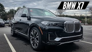 2019 BMW X7 40i Walkaround and Interior Features
