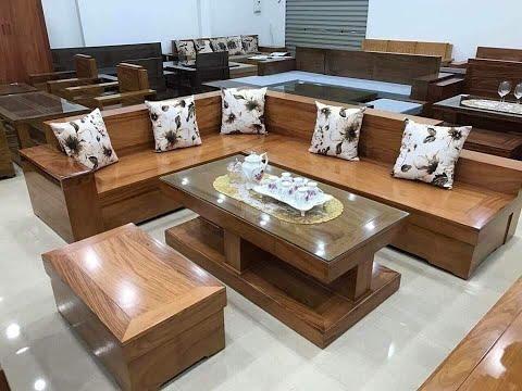Bàn Ghế Gỗ Phòng Khách Nhỏ | Bàn Ghế Sofa Nhỏ Gọn | Sofa đẹp Giá Rẻ
