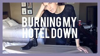 BURNING MY HOTEL DOWN Thumbnail