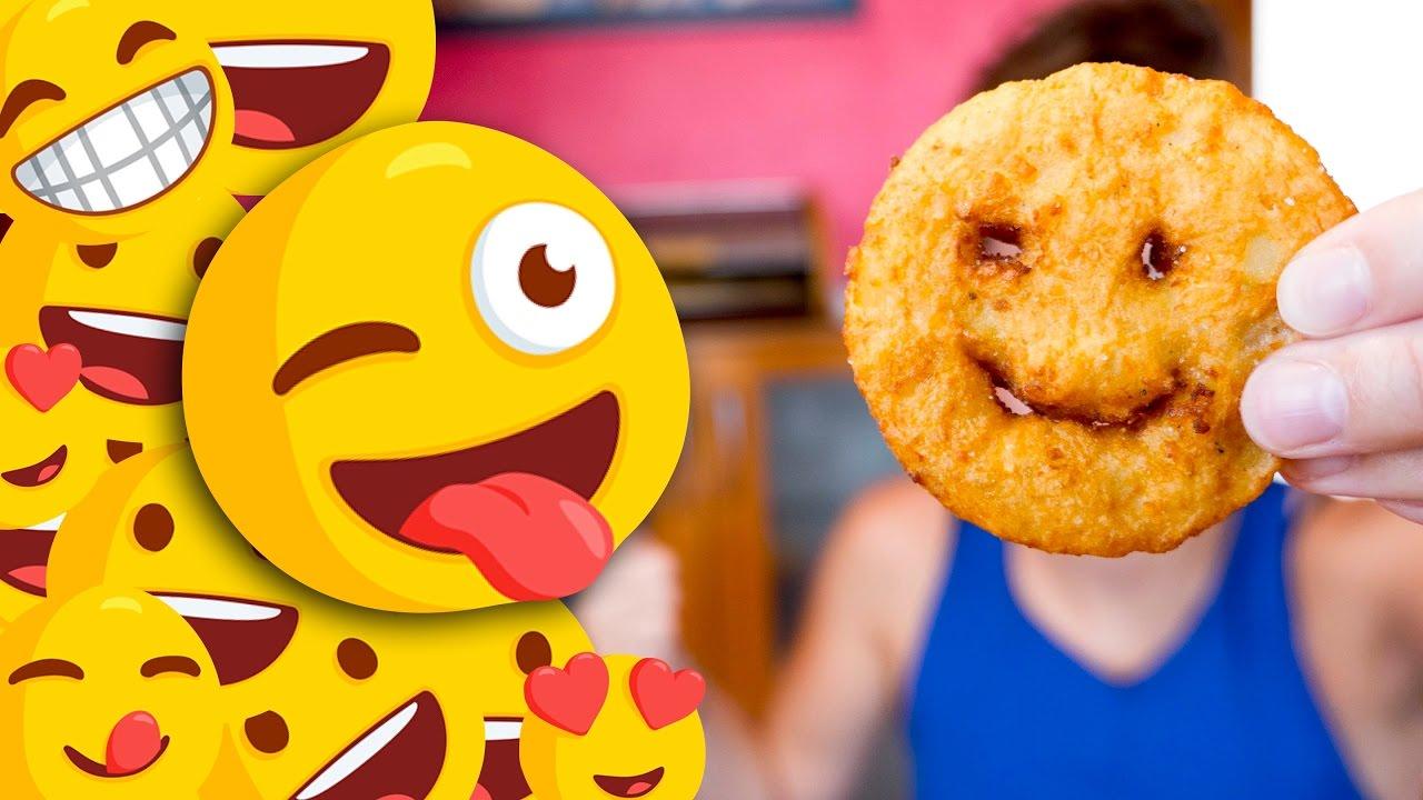 Des Smiley Dans Mon Assiette Patates Avec Sourire Emoji