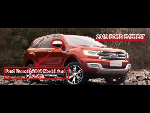 [BEST] ford everest 2019 model and design
