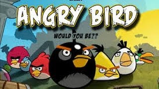 Drawing  Angry Birds Red And Black Birds - Angry Birds