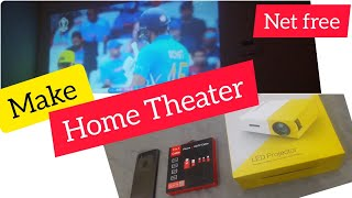 Make your own home theater by cheap and best Projector