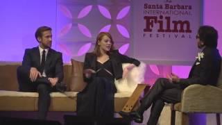 Ryan Gosling Emma Stone Talks About Lala Land