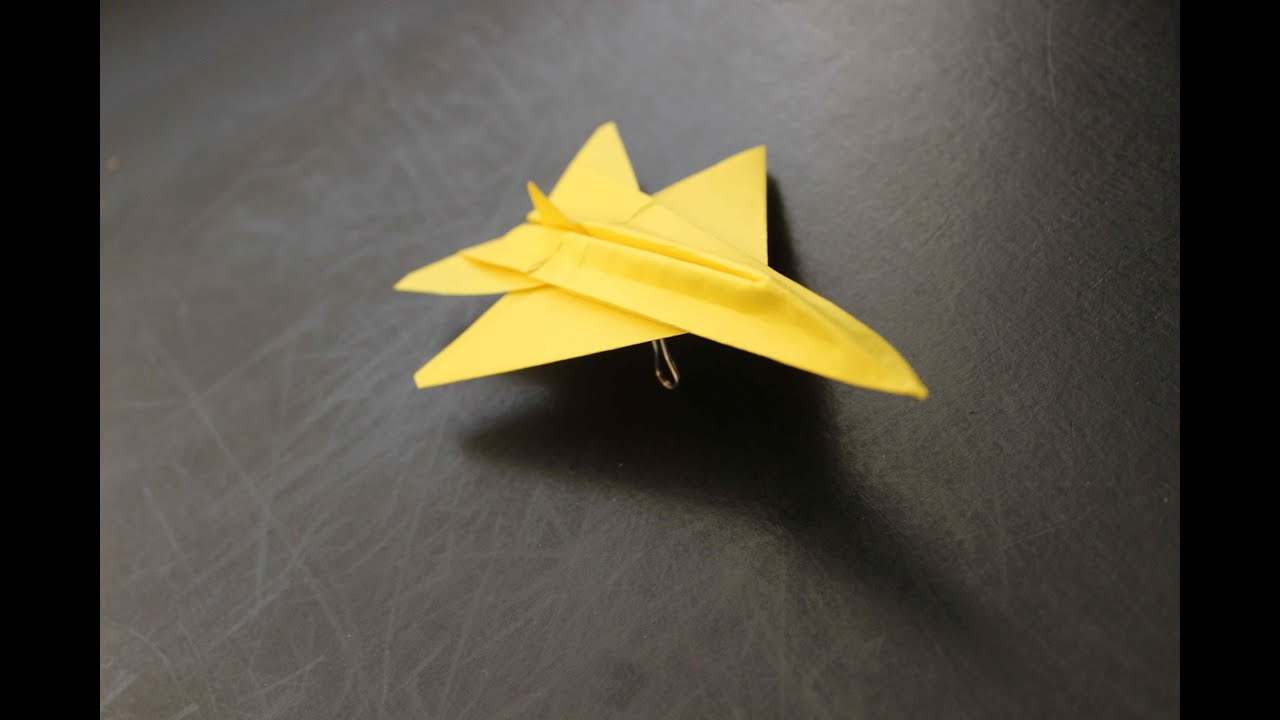 how to make a cool paper plane origami the british