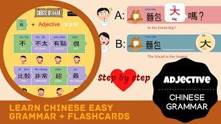 Watch this before you learn Mandarin grammar | practice Mandarin grammar adjective |  how big it is?