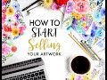 tips for selling your art