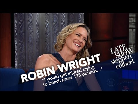 Robin Wright Picks Claire Underwood In A Fight Against Her 'Wonder Woman' Character