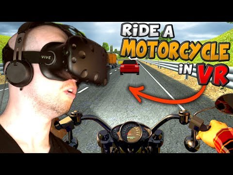 THIS VR GAME WILL STRESS YOU OUT!! | Bike Rush VR
