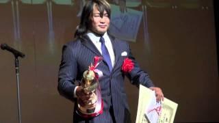 【東スポ・プロレス大賞2011】MVPに輝いた棚橋弘至(新日本プロレス)の...
