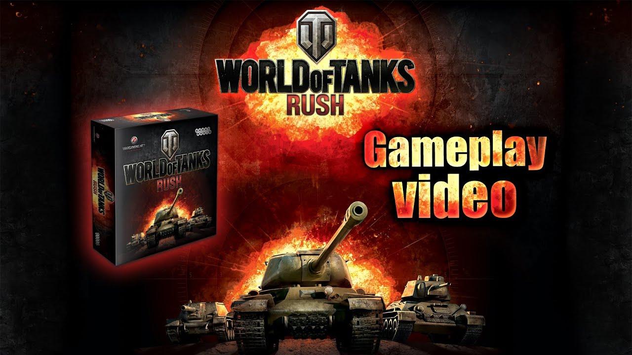 World Of Tanks Rush Card Game Gameplay Video Youtube