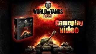 World of Tanks Rush Card Game: Gameplay Video