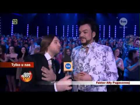 Аłła Pugaczowa w polskiej TV / Алла Пугачева в