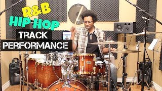 CREATING DRUM PARTS For R&B/HIP HOP TRACK Performance