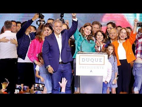 فوز المرشح اليميني إيفان دوكي برئاسة كولومبيا  - نشر قبل 4 ساعة