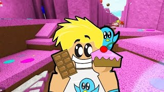 So Much CANDY in Roblox! / Escape Candy Land Obby / Gamer Chad Plays
