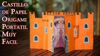 Castillo de Papel Origami Portatil Muy Facil