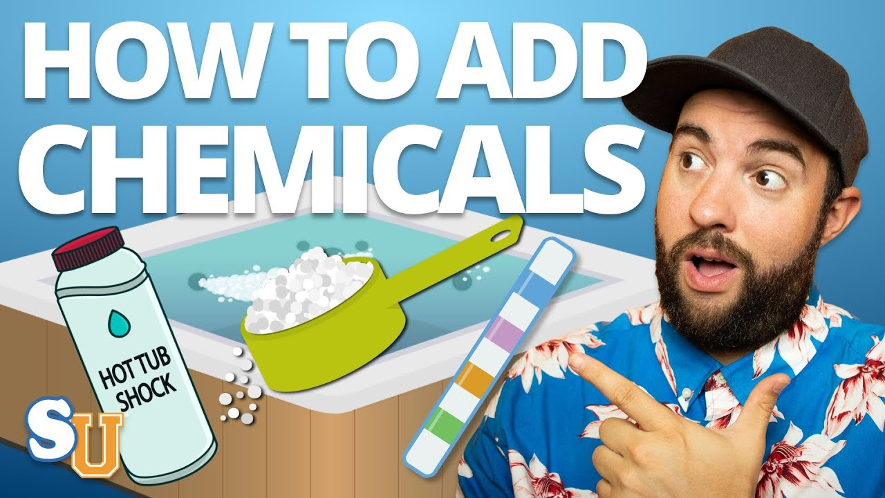 HOT TUB Start Up: How To Add Hot Tub CHEMICALS For First Time | Swim University