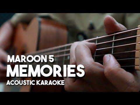 [Acoustic Karaoke] Memories - Maroon 5 (Guitar Version with Lyrics)