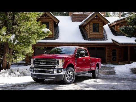2020 Ford F 250 Super Duty King Ranch Exterior Interior and Drive