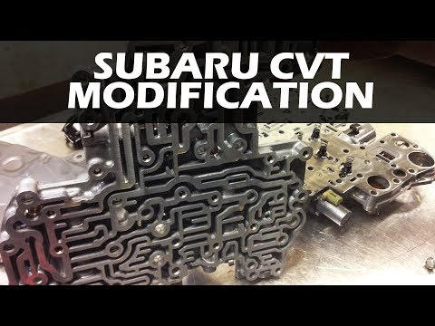Subaru CVT Transmission - Internals and Modifications - YouTube