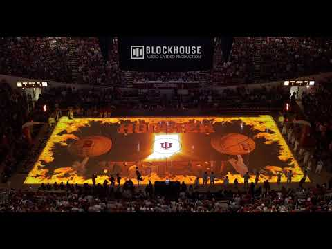 Projection Mapping Basketball Court