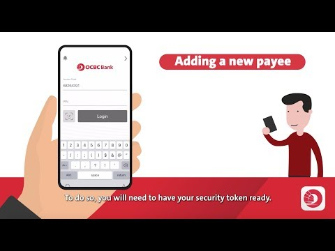 How To Add Or Delete Payees With The OCBC Mobile Banking App