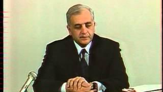 Звиад Гамсахурдия. Телемост «Москва-Тбилиси». 1991 год.