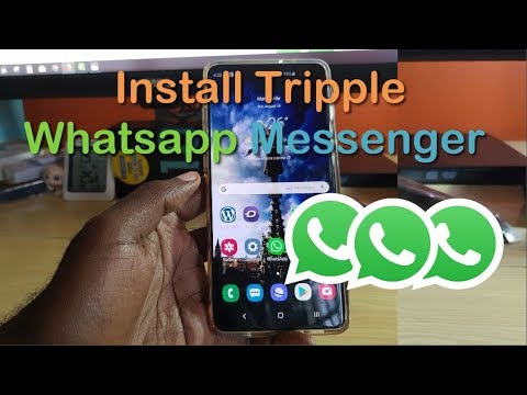 Install Triple Whatsapp Messenger On Galaxy S10 Devices