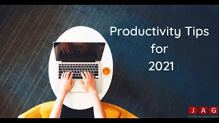 PRODUCTIVITY TIPS 2021 // The easiest ways to stay productive while working from home
