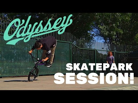 ODYSSEY BMX - MATT NORDSTROM AND CHASE KROLICKI SKATEPARK SESSION