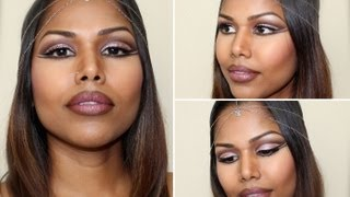 Modern Egyptian Queen Makeup Tutorial Thumbnail