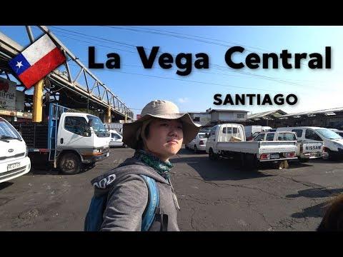 😮 Conociendo La Vega y el Mercado Central | Chile #20
