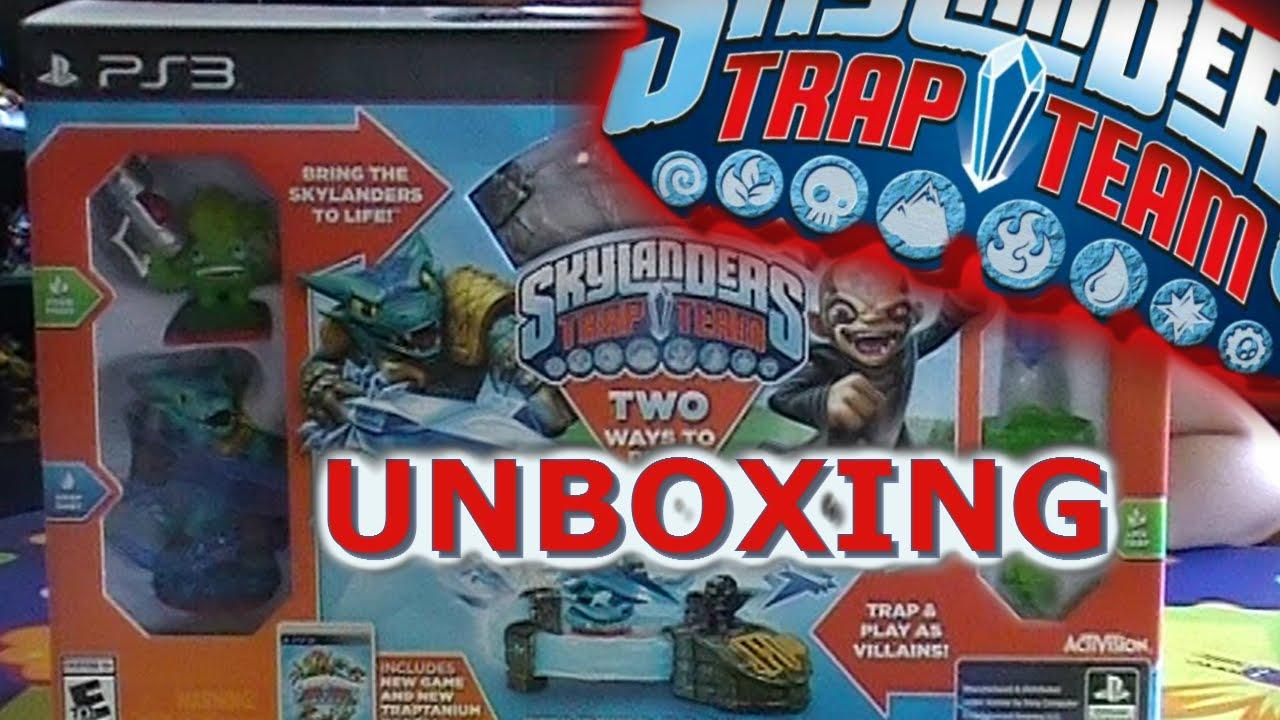 Skylanders Trap Team Unboxing PS3 Starter Pack - YouTube