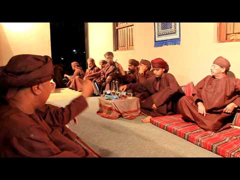Cultural Omani Chanting at Muscat Festival 2012
