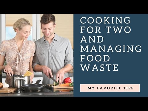 How to limit food waste when cooking for two🍴