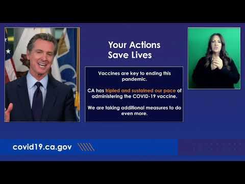 Governor Newsom California COVID-19 Update: January 25, 2020