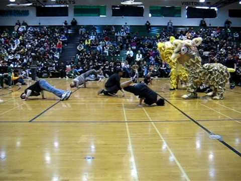 Liondance Breakdance Collaboration
