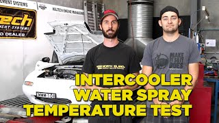 Intercooler Water Spray - Temperature Tested on Dyno