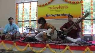 Taalsadhana -Music of Maihar - Sitar Sarod Duet Kaushi Bhairav Gat
