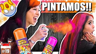 ACERTA OU PINTAREI O SEU CABELO !! (Ficamos com o cabelo colorido?) #EspecialNatal | Blog das irmãs