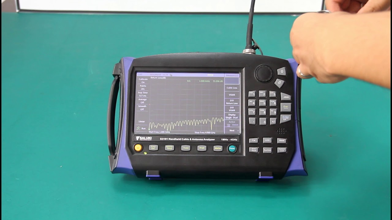 S3101 Cable and Antenna Analyzer (1MHz - 4GHz / 8GHz)-Saluki