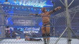WWE SmackDown 1/15/10 - Rey Mysterio vs Batista (Steel cage match)