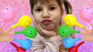 Rina plays with Balloons | Dad…