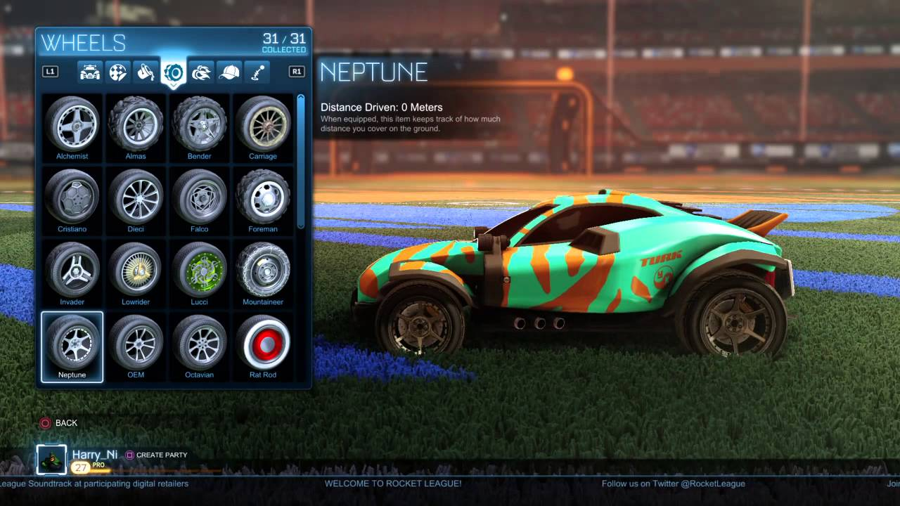 Every Item In Rocket League (Includes all DLC and 6 Rare Halloween ...