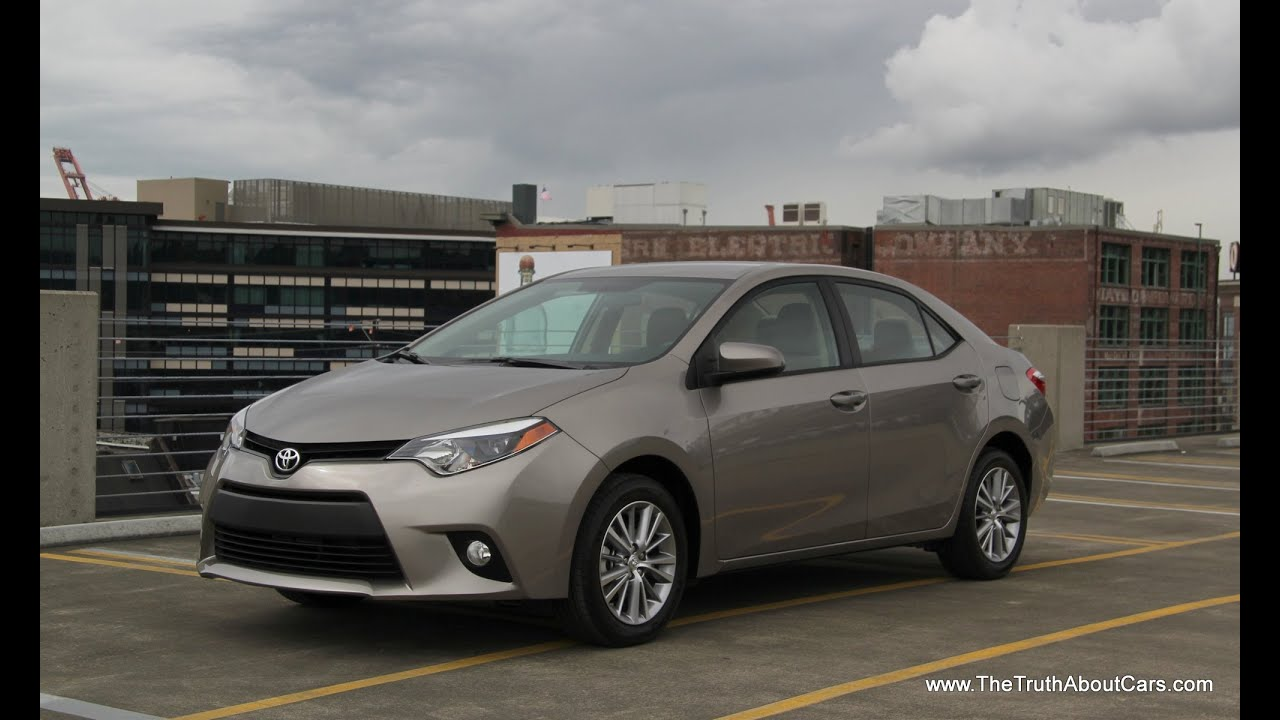 Awesome 2014 / 2015 Toyota Corolla Review And Road Test   YouTube