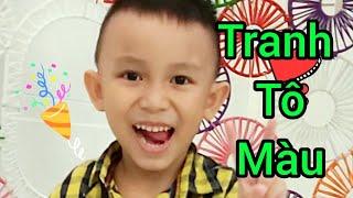 TRANH TÔ MÀU CHO BÉ (COLORED PAINTING FOR KID)