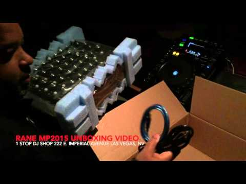 RANE MP2015 UNBOXING VIDEO