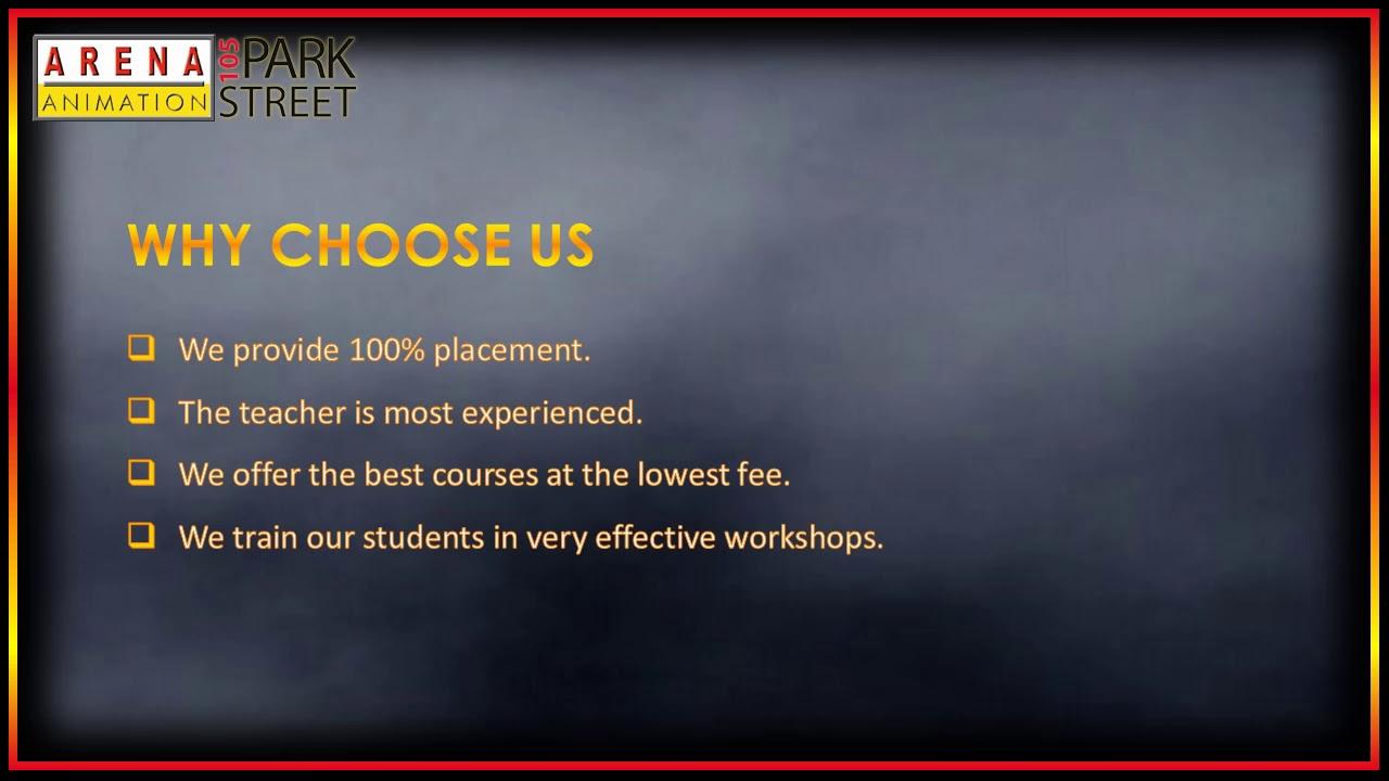 Best Web Designing Course In Kolkata Arena Animation Parkstreet Youtube