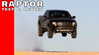 New 2017 Ford Raptor F-150 Test & Review In The Desert